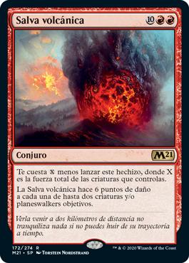 Salva volcánica