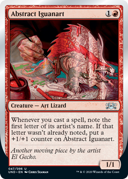 Abstract Iguanart