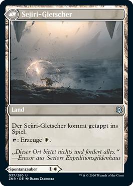 Sejiri-Gletscher