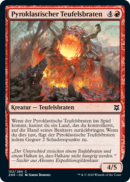 Pyroklastischer Teufelsbraten