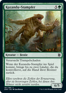 Kazandu-Stampfer