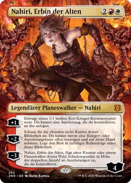 Nahiri, Erbin der Alten, ohne Rand