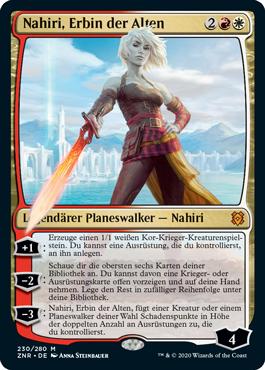 Nahiri, Erbin der Alten