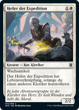 Heiler der Expedition