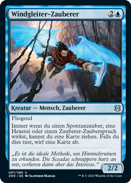 Windgleiter-Zauberer