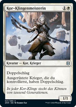 Kor-Klingenmeisterin