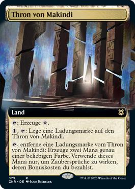 Thron von Makindi