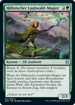 Höhnischer Laubwald-Magier