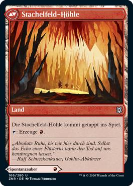 Stachelfeld-Höhle