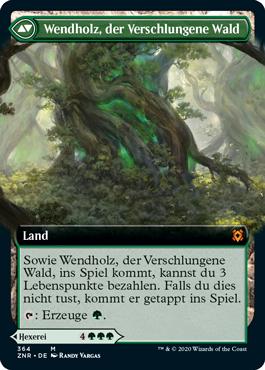 Wendholz, der Verschlungene Wald
