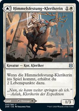 Himmelsfestung-Klerikerin