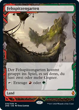 Felsspitzengarten