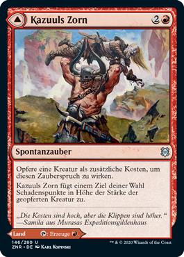 Kazuuls Zorn