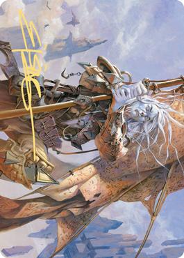 Sea Gate Banneret Art Card