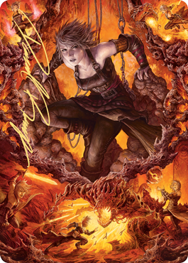 Nahiri, Heir of the Ancients 2 Art Card