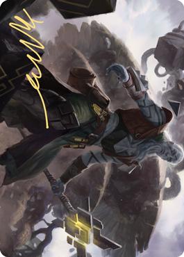 Orah, Skyclave Hierophant Art Card