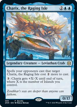 怒り狂う島嶼、キャリクス