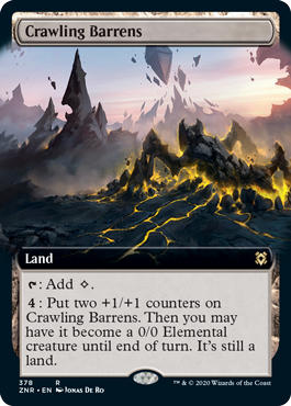 Extended-Art Crawling Barrens