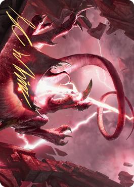 Thundering Rebuke Art Card