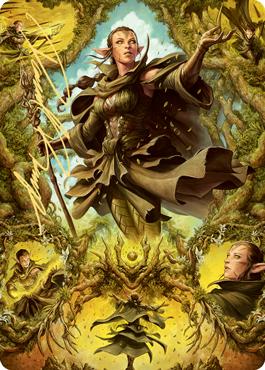 Nissa of Shadowed Boughs 2 Art Card