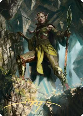 Nissa of Shadowed Boughs 1 Art Card