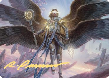 Angel of Destiny Art Card