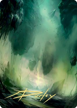 Swamp 1 Art Card