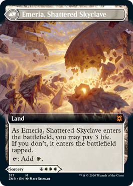 Emeria, Shattered Skyclave