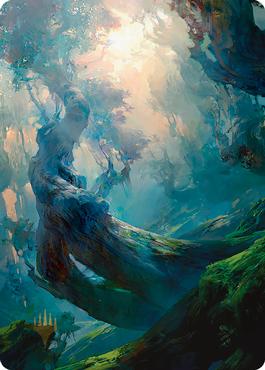 Forest 3 Art Card