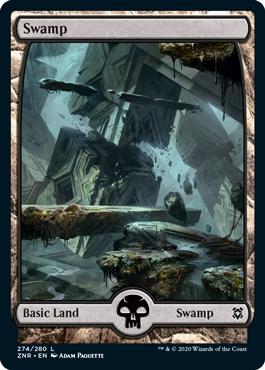 Full-art Swamp