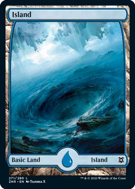 Full-art Island 3
