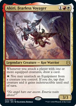 Akiri, Fearless Voyager