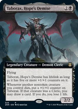 Taborax, Hope's Demise