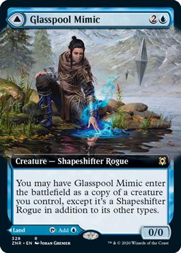 Extended-Art Glasspool Mimic