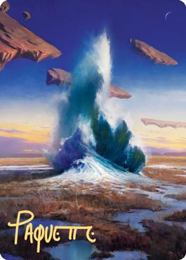 Flooded Strand Art Card