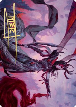 Drana, the Last Bloodchief Art Card