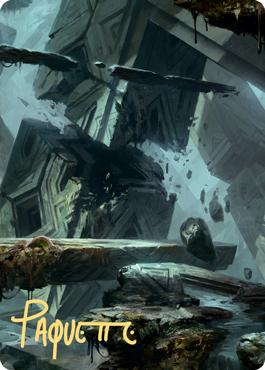 Swamp 3 Art Card