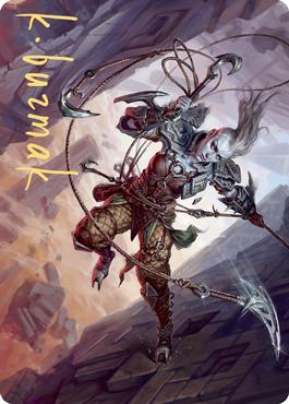 Akiri, Fearless Voyager Art Card