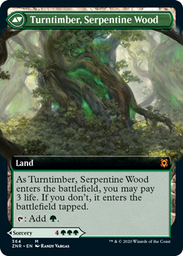Turntimber, Serpentine Wood