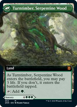 Turntimber, Serpentine Wood