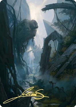 Swamp 2 Art Card
