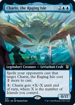 Charix, the Raging Isle