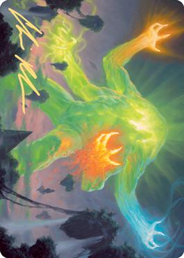 Omnath, Locus of Creation Art Card