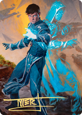 Jace, Mirror Mage 1 Art Card