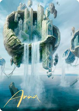 Island 2 Art Card