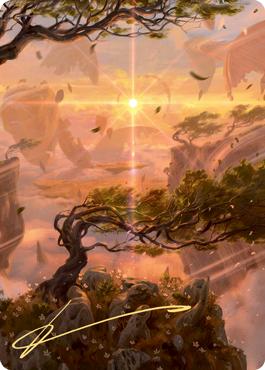 Windswept Heath Art Card