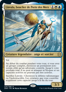 Linvala, bouclier de Porte des Mers