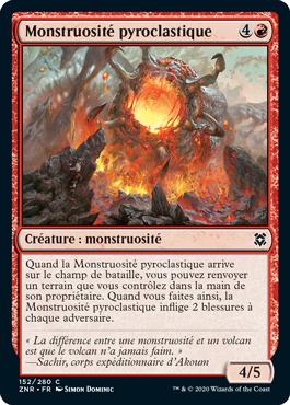 Monstruosité pyroclastique