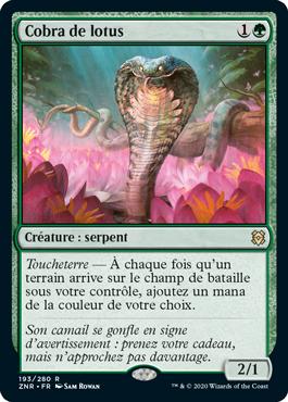 Cobra de lotus