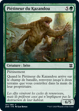 Piétineur du Kazandou